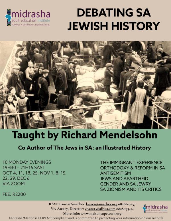 SA Jewish History Flyer 2021
